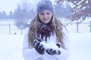 Snow day struggle