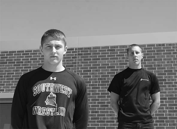 Seniors Luke Scott and Ben Guenther Join the Armed Forces
