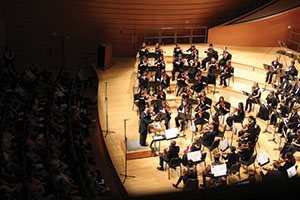 Students Play Music in the Kansas City Youth Symphony