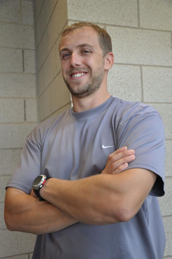 Athletic trainer Christopher Poskey