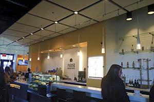 Hot spots in the area: Parisi café