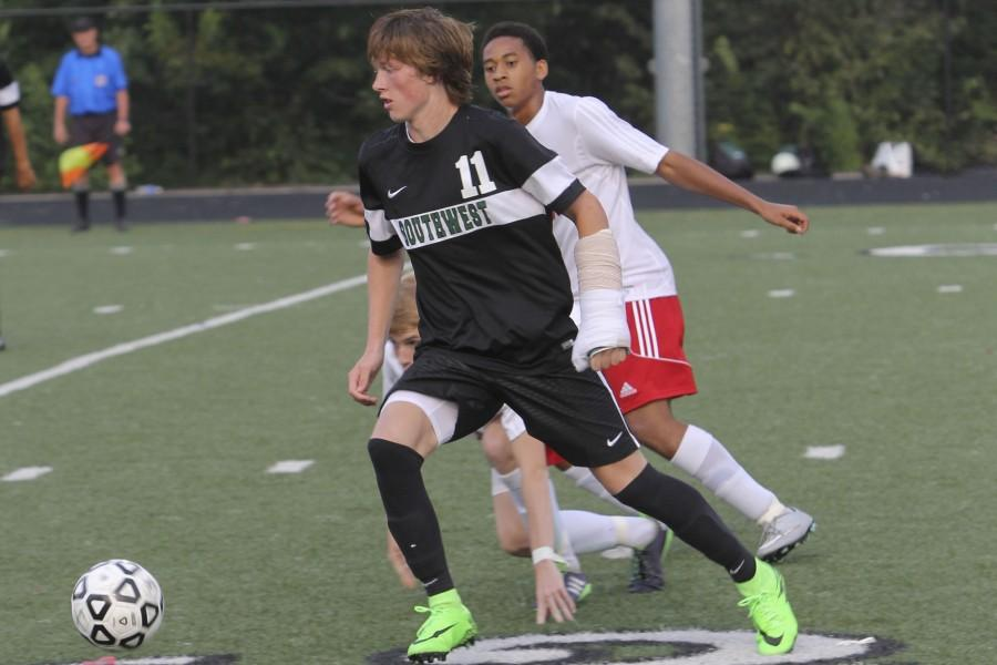 Gallery: Boys varsity soccer vs. Bishop Miege