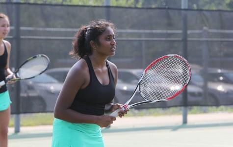 Gallery: Girls varsity tennis vs. Blue Valley