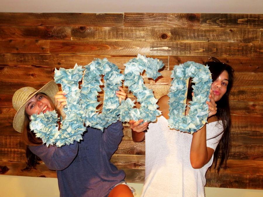 Juniors Sophie Bokarae and Josie Henzlik create a bohemian jewelry company