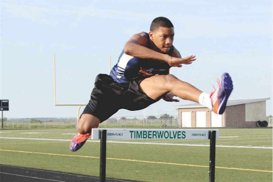 Sophomore Noah Green competes in US Junior Olympics