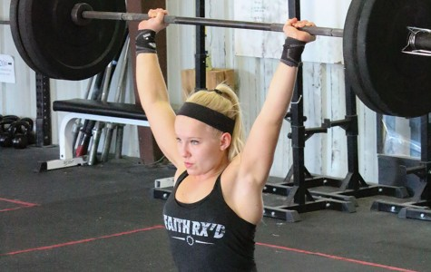 Senior Rachel Stetson finds her passion in Crossfit