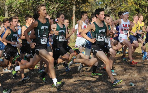 Varsity cross country team advances in rankings