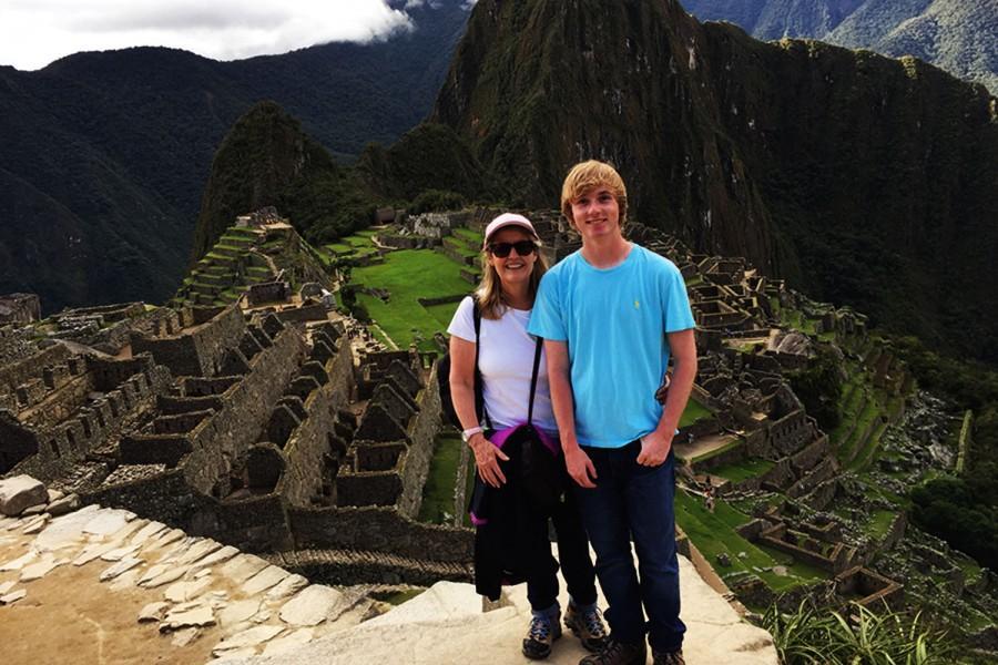Junior Landon Smith travels across the world