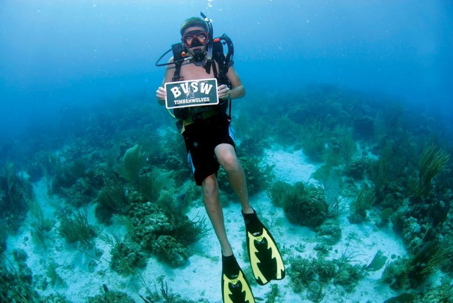 Senior Reagan Dupriest explores his interest in scuba diving