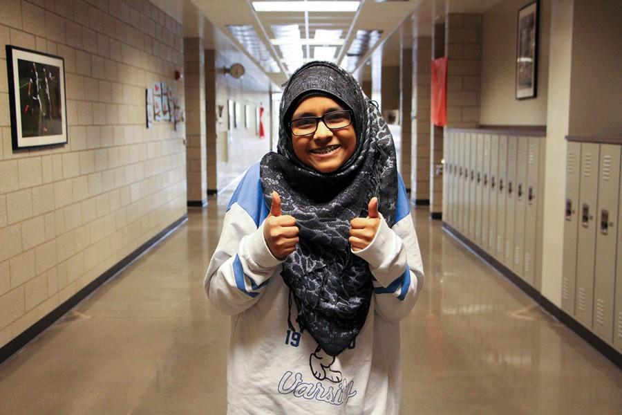 """February 17: National Random Acts of Kindness Day. """"In a way, I apply [random acts of kindness] every day, sophomore Mahrukh Jamal said. I don't like to use all of my kindness on just one day; I like to spread it out. I like doing [acts of kindness] in general. It makes me feel good, and I feel like I'm making some sort of impact in the hallways. You don't know when a person is having a bad day, so if you can do one thing that will brighten up their day, it's worth it."""""""
