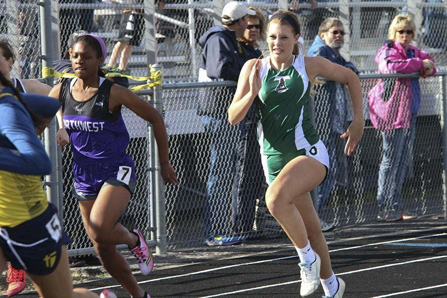 Gallery: Varsity track at Blue Valley Relays