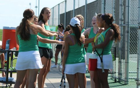 Gallery: Girl's junior varsity tennis vs. Blue Valley West on Aug. 31