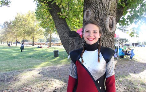 Q & A with drum major Emily Tolar