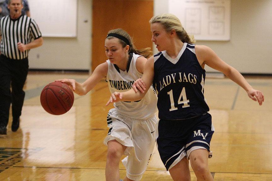 Gallery: Girls varsity basketball game on Jan. 30