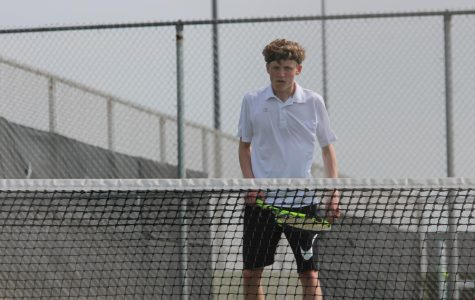 GALLERY: Boys Tennis vs. St. James on April 10