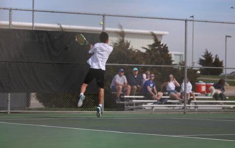 GALLERY: Boys Tennis vs. St. James on April 10