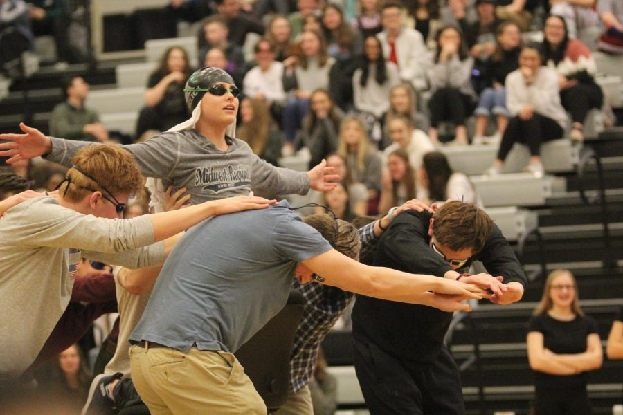 Photo Gallery: Winter Sports Assembly on Jan. 28