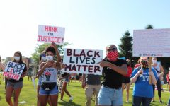 Navigation to Story: GALLERY: Black Lives Matter peaceful protest on June 12