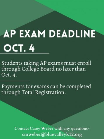 AP Exam Deadline