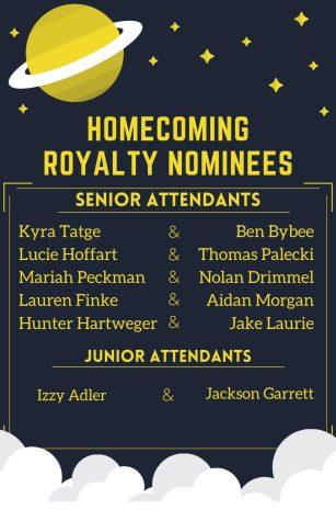 Homecoming Royalty Nominees